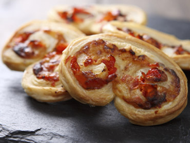 Applewood® Cheese & Red Pepper  Palmiers